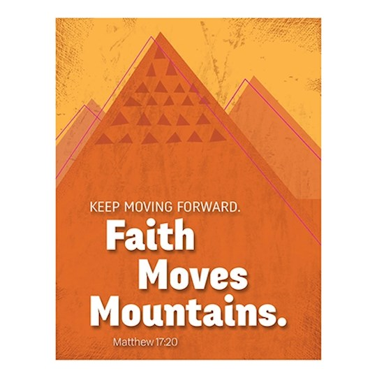 "Magnet-Faith Moves Mountains (2.625"" x 3.375"") 