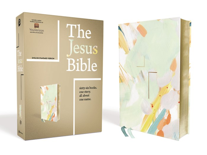 ESV The Jesus Bible-Multi-Color Teal Leathersoft | SHOPtheWORD