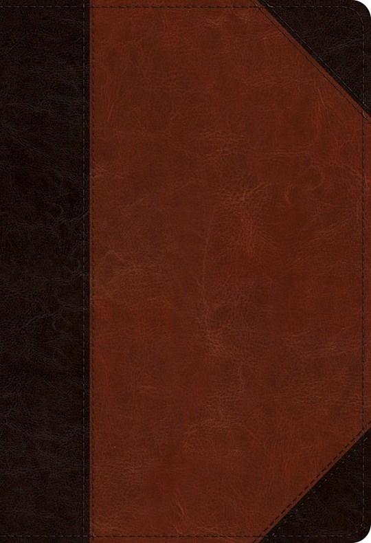 ESV Student Study Bible-Brown/Cordovan Portfolio Design TruTone | SHOPtheWORD