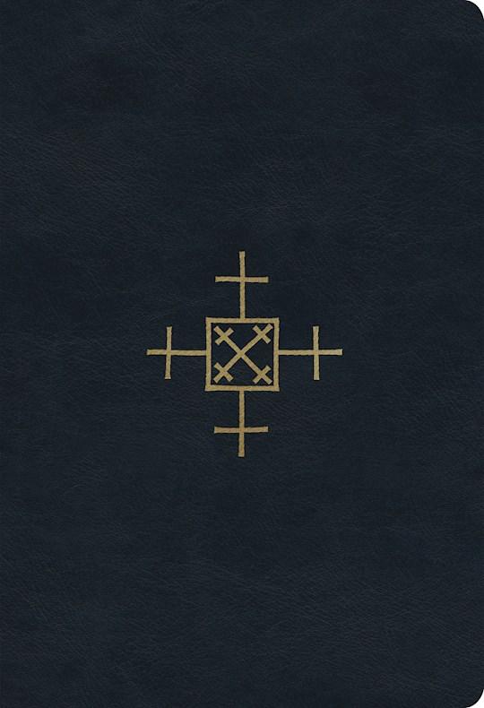 ESV Student Study Bible-Navy Cross Of Christ Design TruTone | SHOPtheWORD