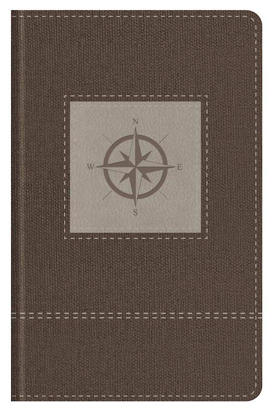 KJV Go-Anywhere Study Bible-Cedar Compass Softcover | SHOPtheWORD