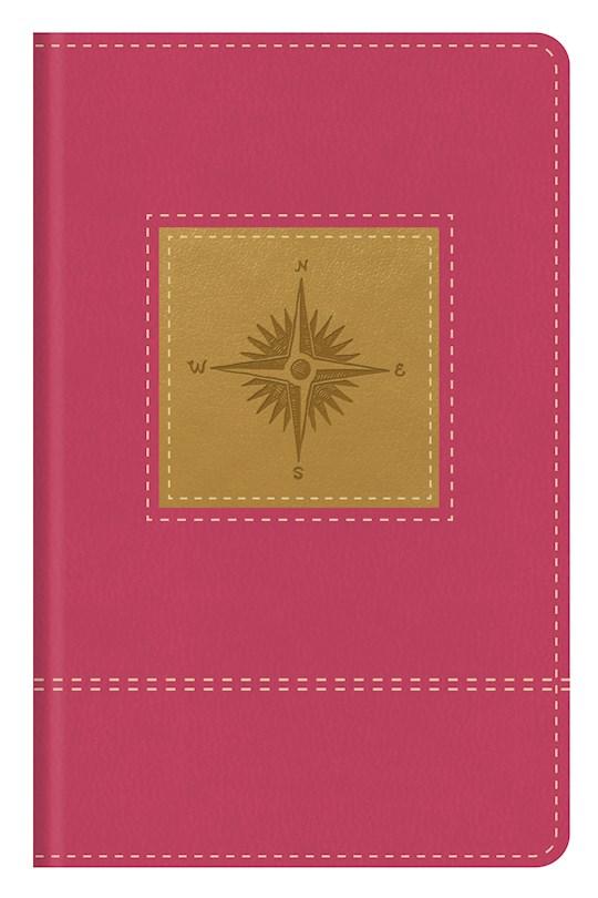 KJV Go-Anywhere Study Bible-Primrose Compass Softcover   SHOPtheWORD