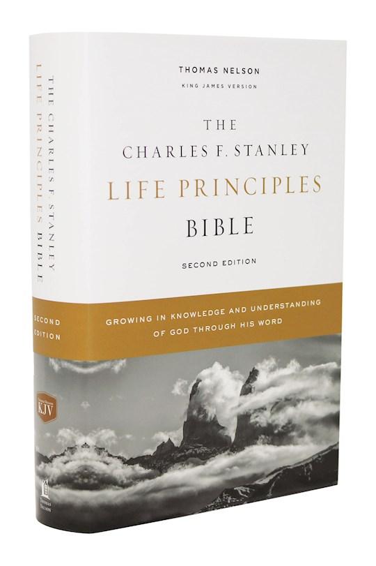 KJV Charles F. Stanley Life Principles Bible (2nd Edition) (Comfort Print)-Hardcover | SHOPtheWORD