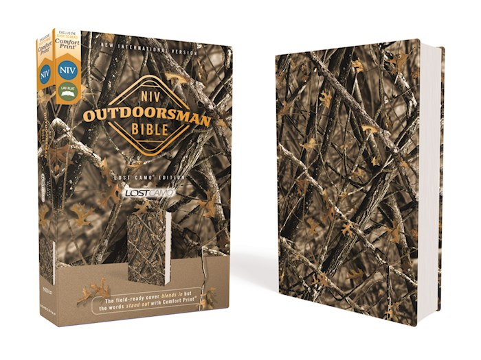 NIV Outdoorsman Bible-Lost Camo Edition (Comfort Print)-Woods Print Camo Leathersoft | SHOPtheWORD