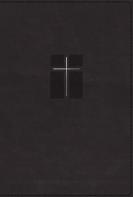 NIV Quest Study Bible (Comfort Print)-Black Leathersoft Indexed   SHOPtheWORD