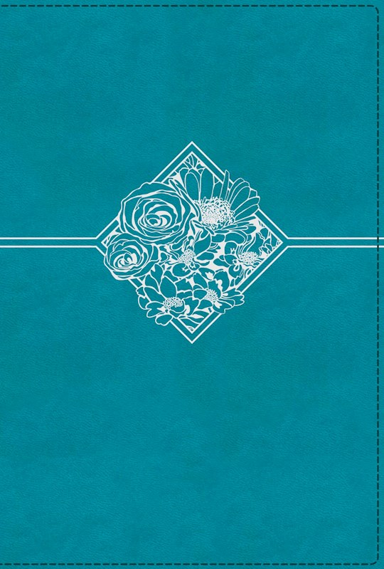 NIV Quest Study Bible (Comfort Print)-Teal Leathersoft Indexed | SHOPtheWORD