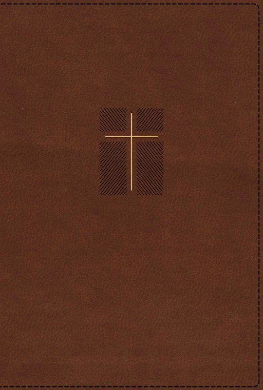 NIV Quest Study Bible (Comfort Print)-Brown Leathersoft Indexed | SHOPtheWORD