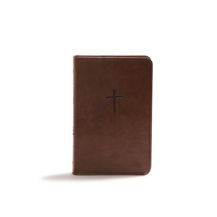 KJV Compact Bible (Value Edition)-Brown LeatherTouch | SHOPtheWORD