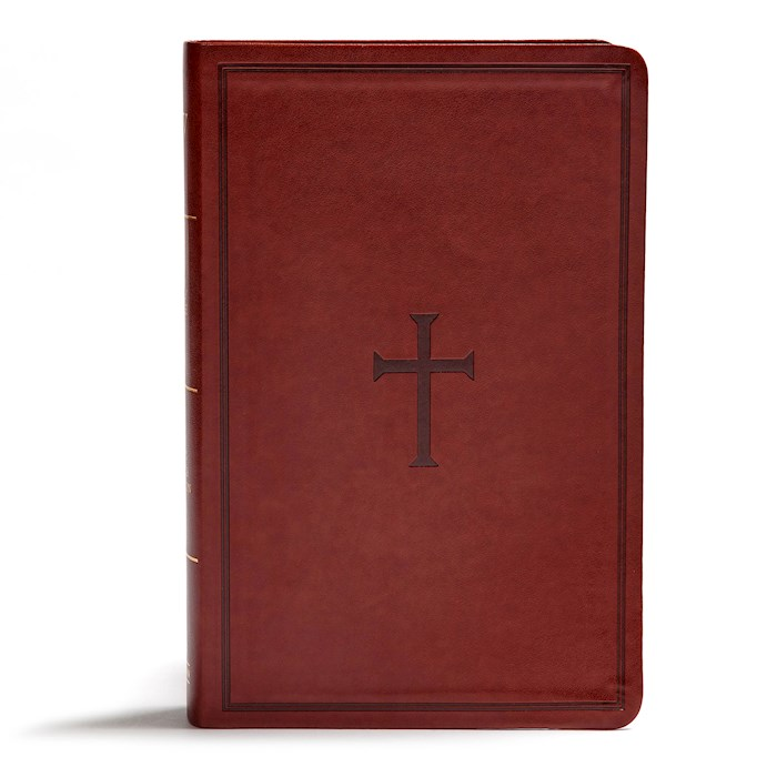 KJV Giant Print Reference Bible-Brown LeatherTouch | SHOPtheWORD