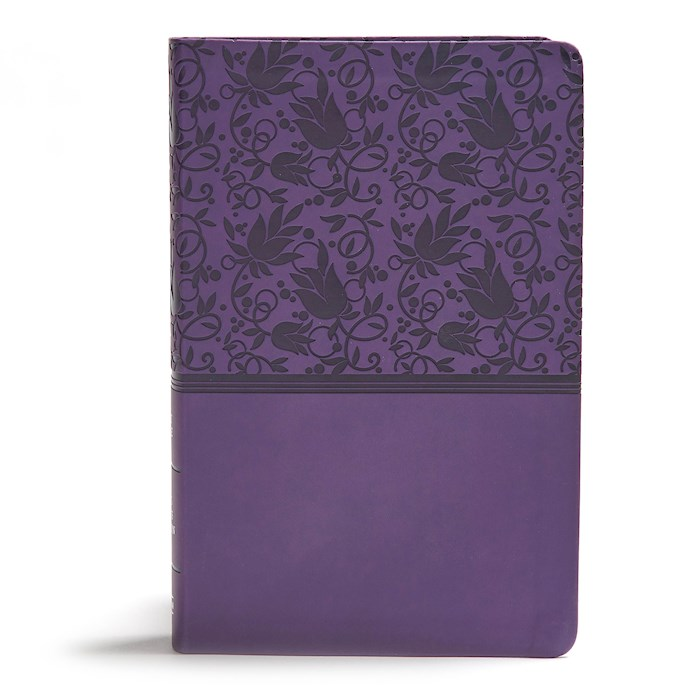 KJV Giant Print Reference Bible-Purple LeatherTouch | SHOPtheWORD