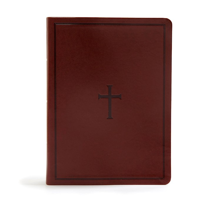 KJV Study Bible (Full-Color)-Brown LeatherTouch   SHOPtheWORD