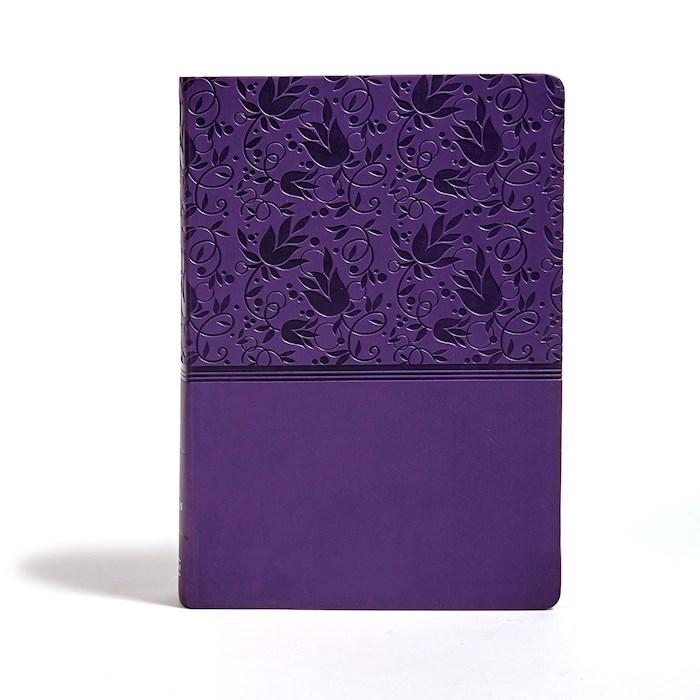 KJV Super Giant Print Reference Bible-Purple LeatherTouch | SHOPtheWORD