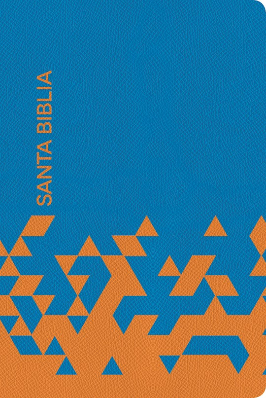 Span-NIV Gift And Award Bible-Ocean Blue/Papaya Imitation Leather (Biblia Para Regalos Y Premios) | SHOPtheWORD