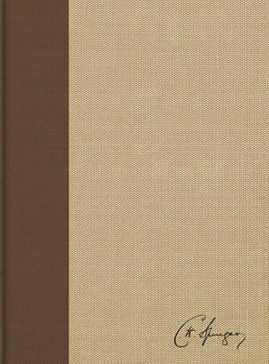 Span-RVR 1960 Spurgeon Study Bible-Hardcover (Biblia De Estudio Spurgeon) | SHOPtheWORD