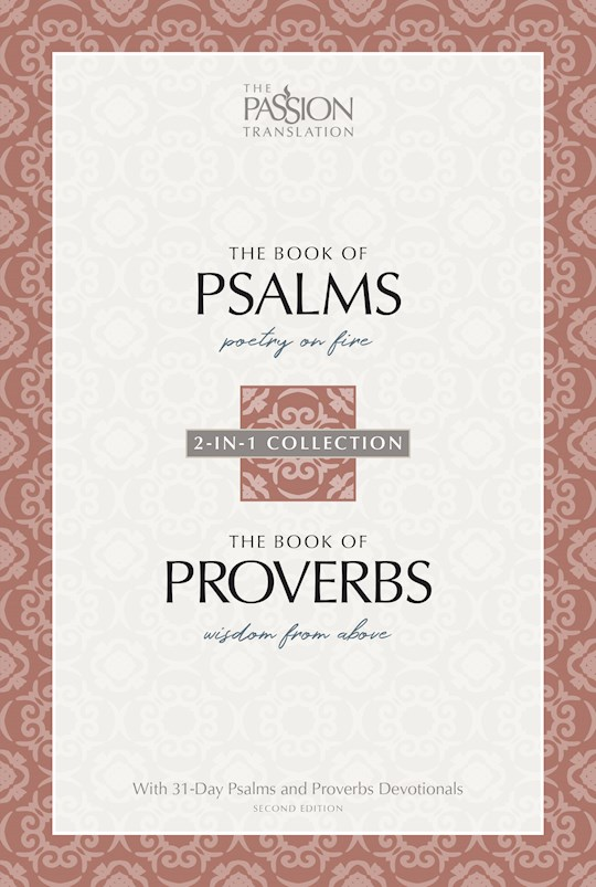 The Passion Translation: Psalms & Proverbs (2nd Edition)-Softcover | SHOPtheWORD