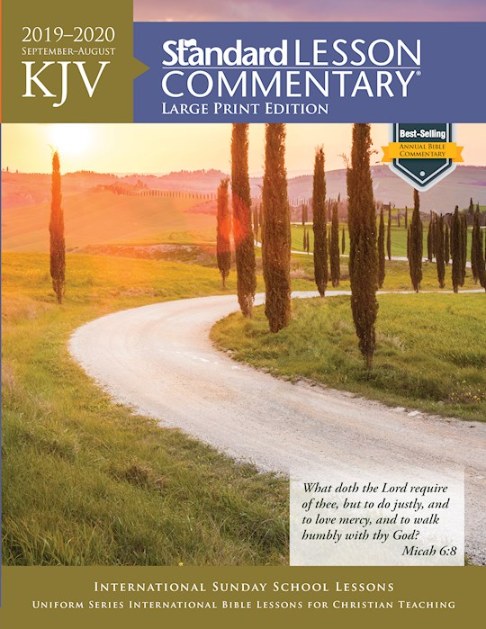 KJV Standard Lesson Commentary 2019-2020-Large Print Edition by Pub Standard | SHOPtheWORD