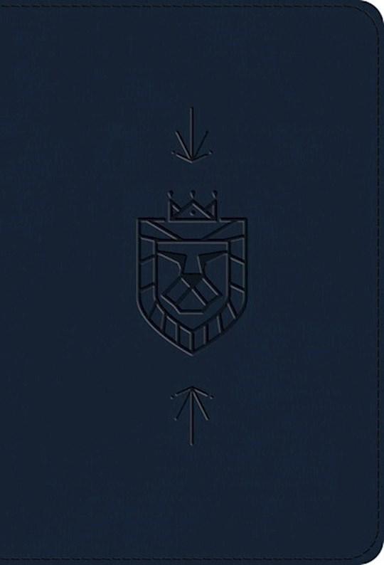 ESV Kid's Compact Bible-Navy Lion Of Judah Design TruTone | SHOPtheWORD