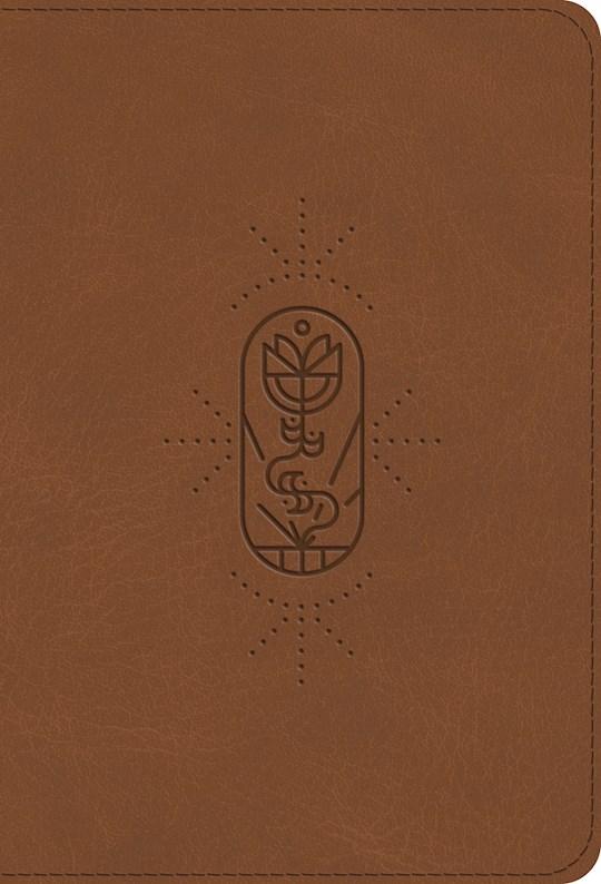 ESV Kid's Compact Bible-Brown The True Vine Design TruTone | SHOPtheWORD