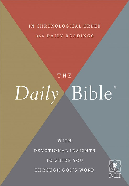 NLT Daily Bible-Softcover | SHOPtheWORD
