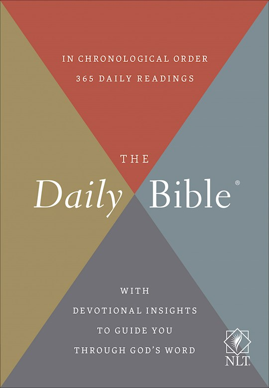 NLT Daily Bible-Hardcover | SHOPtheWORD
