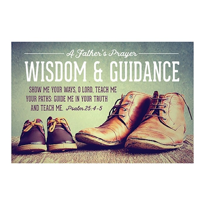"Cards-Pass It On-Wisdom & Guidance/Shoes (3"" x 2"") (Pack Of 25) 