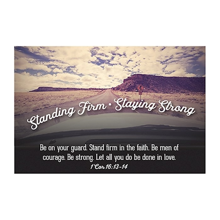 """Cards-Pass It On-Standing Firm/Roadway (3"""" x 2"""") (Pack Of 25) 