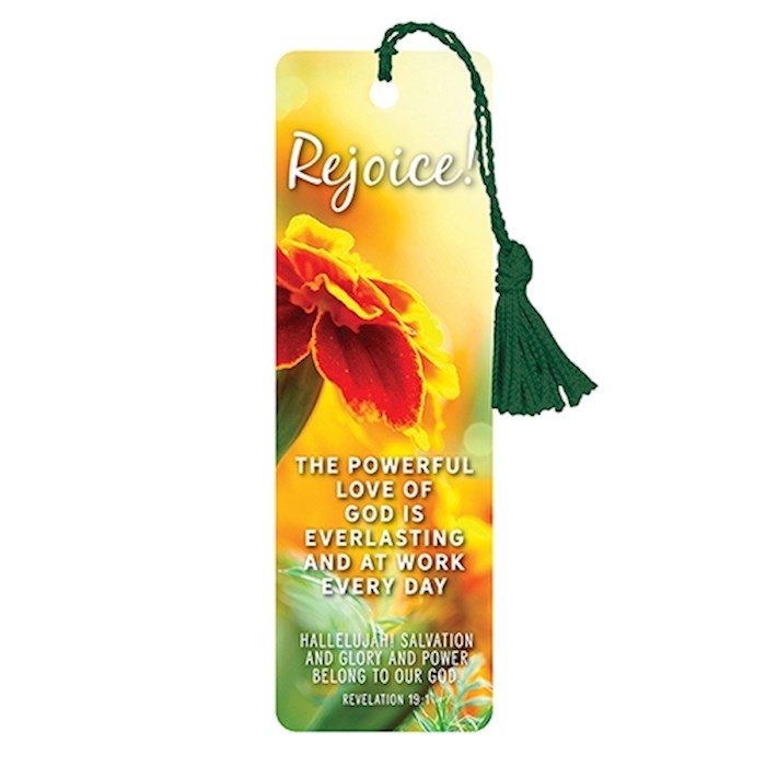 VerseMark-Rejoice/Floral | SHOPtheWORD