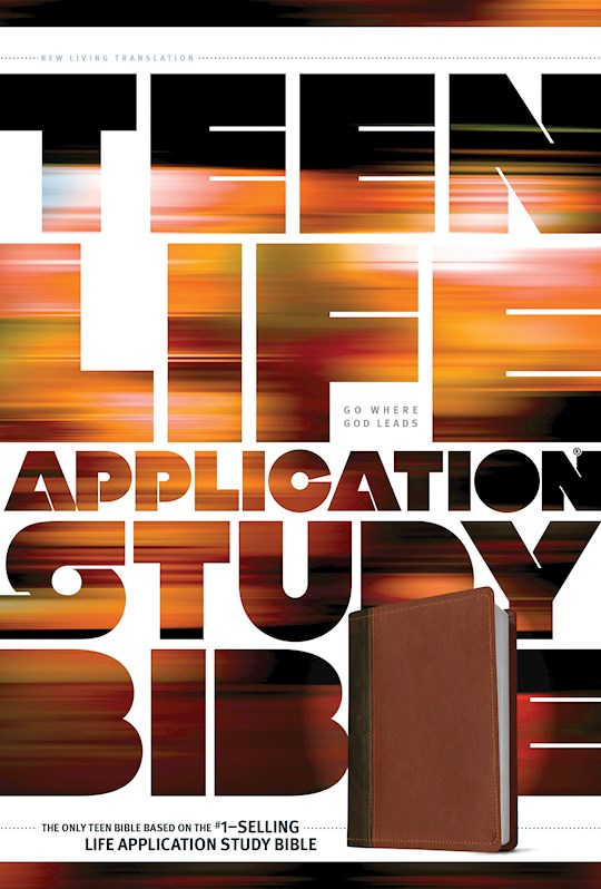 NLT Teen Life Application Study Bible-Brown LeatherLike | SHOPtheWORD
