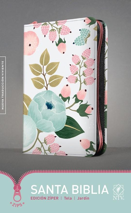Span-NTV Holy Bible, Zipper Edition (Santa Biblia, Edicion Ziper)-Floral LeatherLike | SHOPtheWORD