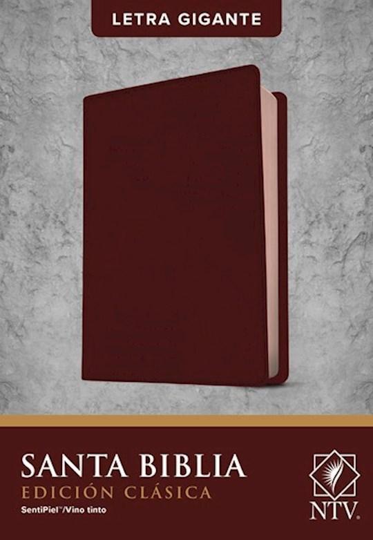 Span-NTV Holy Bible, Classic Edition (Santa Biblia, Edición Clásica)-Burgundy LeatherLike | SHOPtheWORD