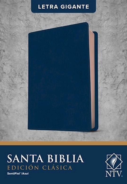 Span-NTV Holy Bible, Classic Edition (Santa Biblia, Edición Clásica)-Blue LeatherLike Indexed  | SHOPtheWORD