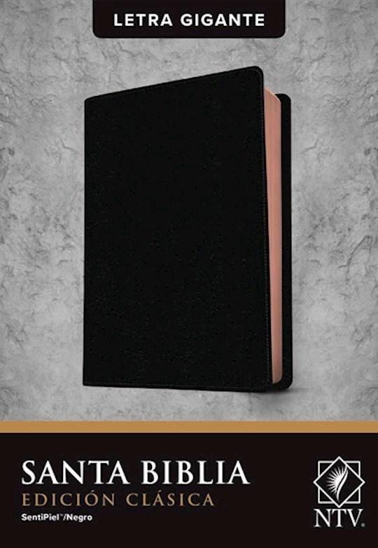 Span-NTV Holy Bible, Classic Edition (Santa Biblia, Edición Clásica)-Black LeatherLike | SHOPtheWORD