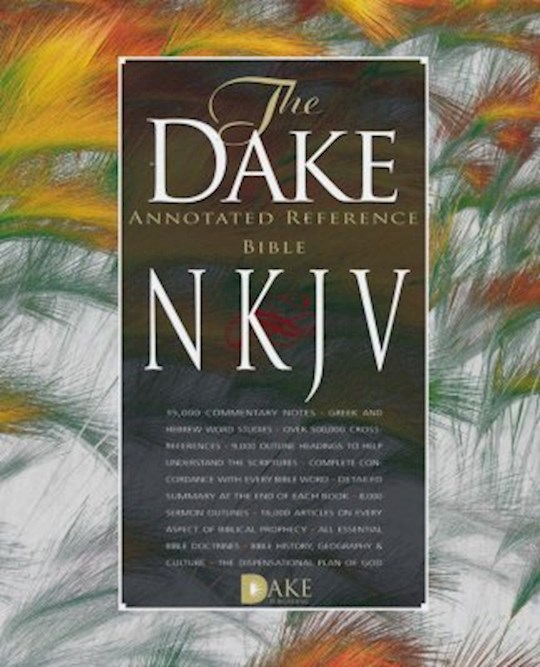 NKJV Dake Annotated Reference Bible-Burgundy Bonded Leather | SHOPtheWORD