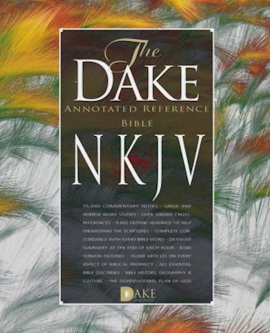 NKJV Dake Annotated Reference Bible-Black Bonded Leather | SHOPtheWORD