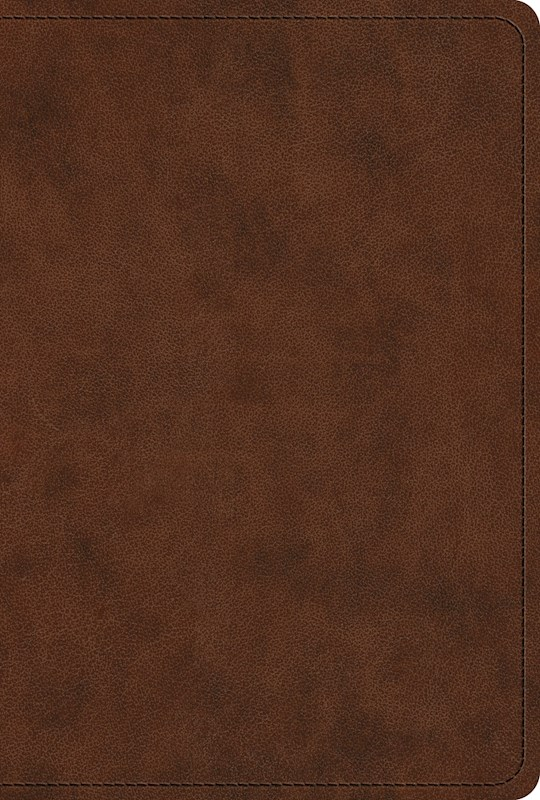 ESV New Testament-Brown/Walnut Portfolio Design TruTone | SHOPtheWORD