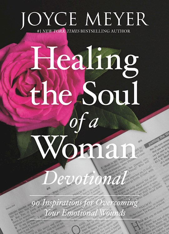 Healing The Soul Of A Woman Devotional by Joyce Meyer | SHOPtheWORD