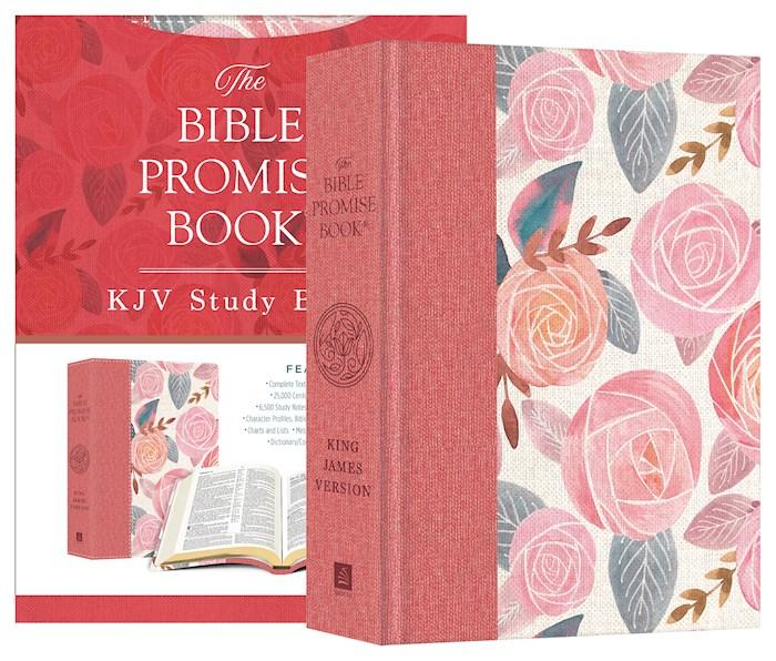 KJV Bible Promise Book Bible-Rose Garden Hardcover | SHOPtheWORD