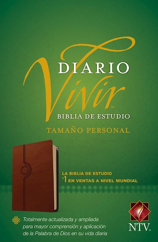 Span-NTV Life Application Study Bible/Personal Size (Biblia De Estudio Del Diario Vivir)-Tan LeatherLike | SHOPtheWORD