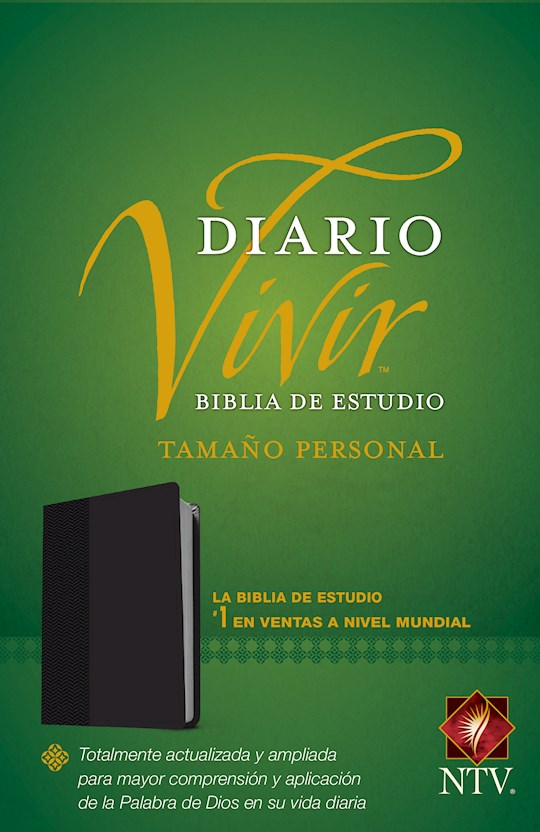 Span-NTV Life Application Study Bible/Personal Size (Biblia De Estudio Del Diario Vivir)-Black LeatherLike  | SHOPtheWORD
