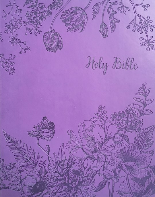 KJV Sword Study Bible/Personal Size Large Print Designer Purple Ultrasoft Indexed | SHOPtheWORD