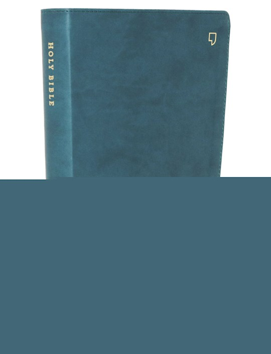 NET Thinline Bible/Large Print (Comfort Print)-Teal Leathersoft Indexed   SHOPtheWORD