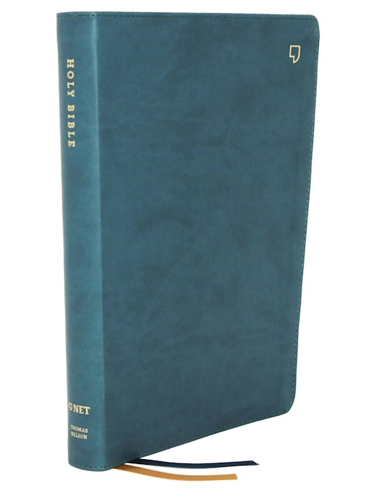 NET Thinline Bible (Comfort Print)-Teal Leathersoft | SHOPtheWORD