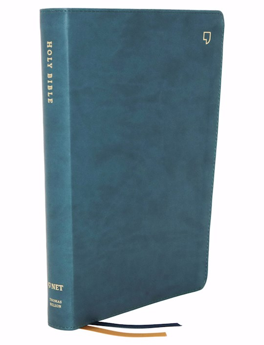 NET Thinline Bible (Comfort Print)-Teal Leathersoft Indexed | SHOPtheWORD