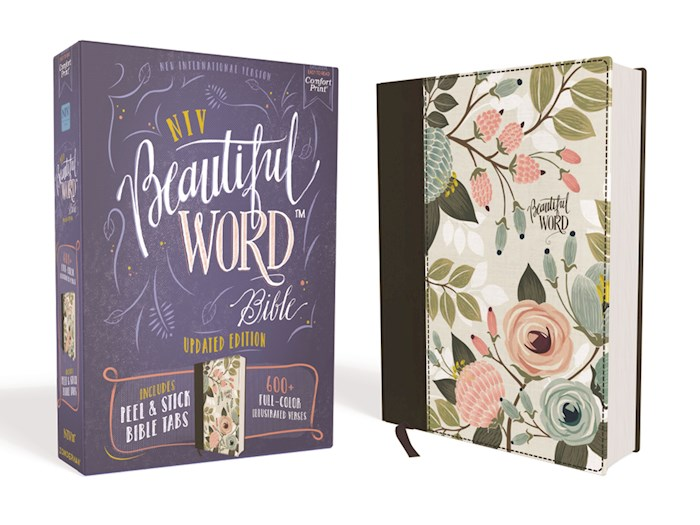 NIV Beautiful Word Bible (Updated Edition)-Multi-Color/Floral Cloth Over Board | SHOPtheWORD