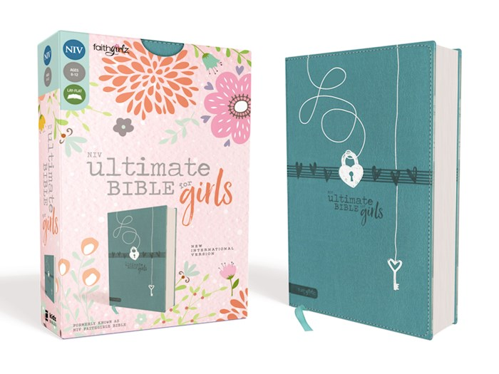 NIV Ultimate Bible For Girls-Teal Leathersoft | SHOPtheWORD