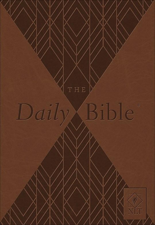 NLT Daily Bible-Brown Milano Softone | SHOPtheWORD