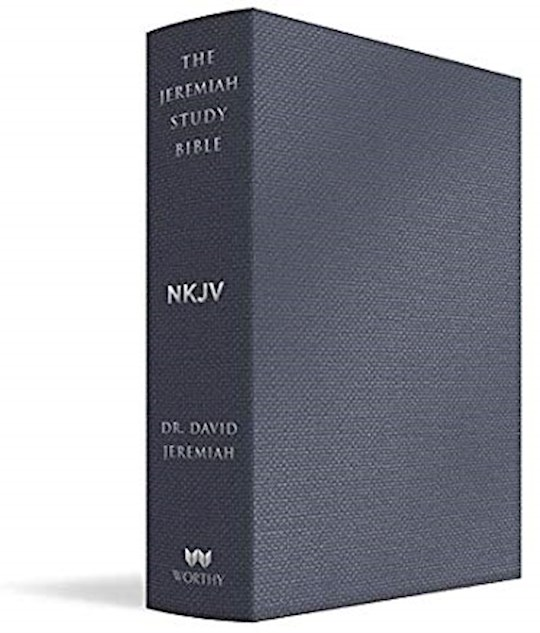 NKJV The Jeremiah Study Bible-Majestic Black LeatherLuxe | SHOPtheWORD