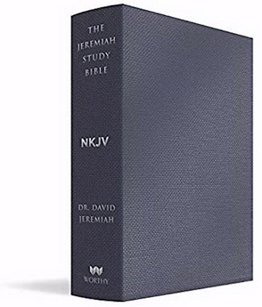 NKJV The Jeremiah Study Bible-Majestic Black LeatherLuxe Indexed | SHOPtheWORD