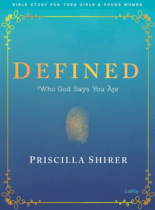 Defined Bible Study For Teen Girls (Overcomer) by Priscilla Shirer | SHOPtheWORD
