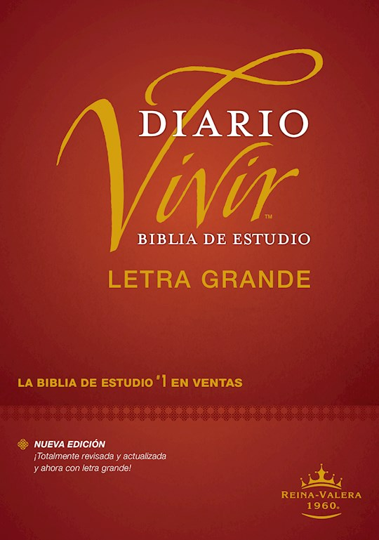 Span-RVR 1960 Life Application Study Bible/Large Print (Biblia de Estudio del Diario Vivir, Grande)-Hardcover | SHOPtheWORD